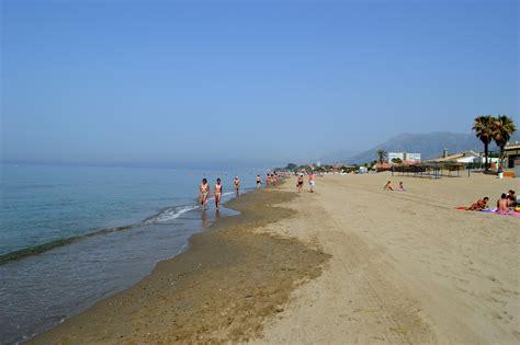 best beach in marbella best beaches in marbella playa hermosa
