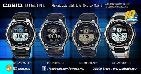 Batt Original Ae casio standard ae 2000wd 1av digital 10 yrs batt