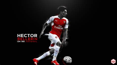 Handcrafted Wallpaper - hector bellerin custom wallpaper you are my arsenal