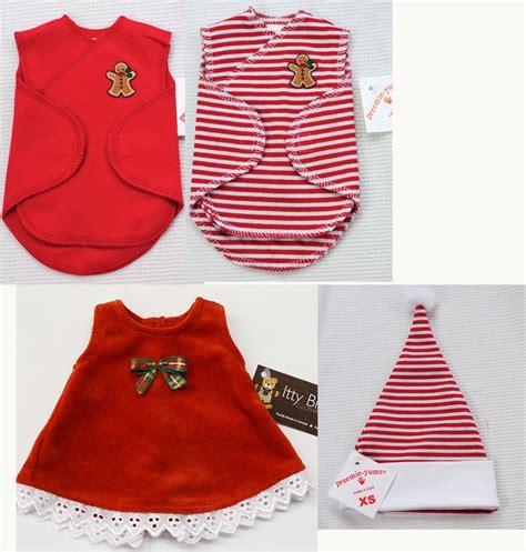 pattern for preemie clothes tiny micro preemie christmas outfits preemie christmas