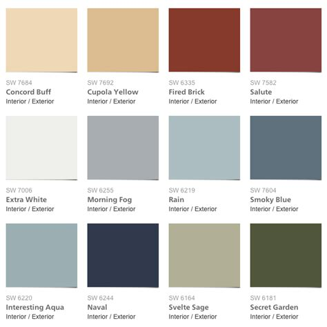 sherwin williams pottery barn seasonal color palette fall winter 2013 archives intentional