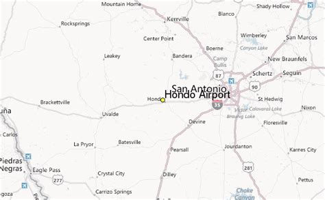map of hondo texas hondo airport weather station record historical weather for hondo airport texas