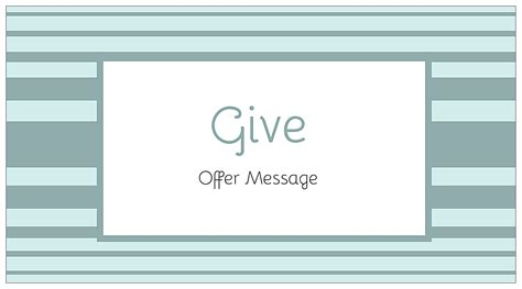 customize our give us a stripe postcard design template