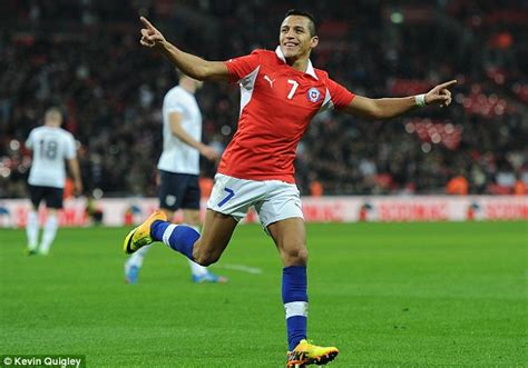 alexis sanchez goal for chile england 0 chile 2 match report alexis sanchez scores