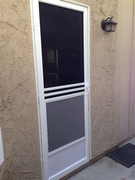Screen Door Installation by Swinging Screen Doors Screen Door And Window Screen Repair And Replacement Simi Valley