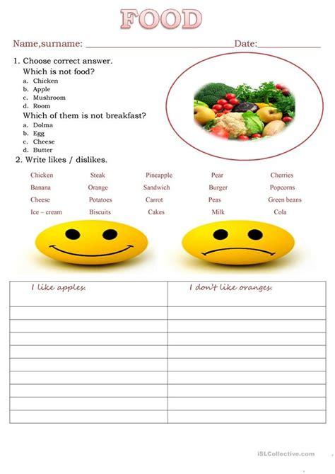 1951 free esl food worksheets food worksheet free esl printable worksheets made by