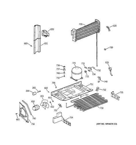ge refrigerator maker water line diagram engine
