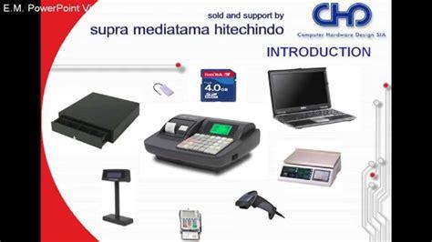 Mesin Kasir Portable Chd 3050 supra chd 3050rev3