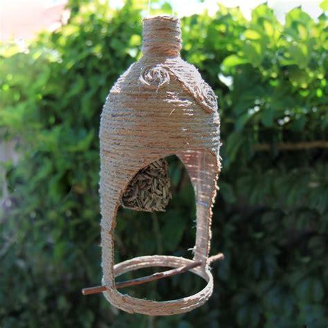 Bird Feeder From Plastic Bottle bird feeder made from a plastic bottle birds