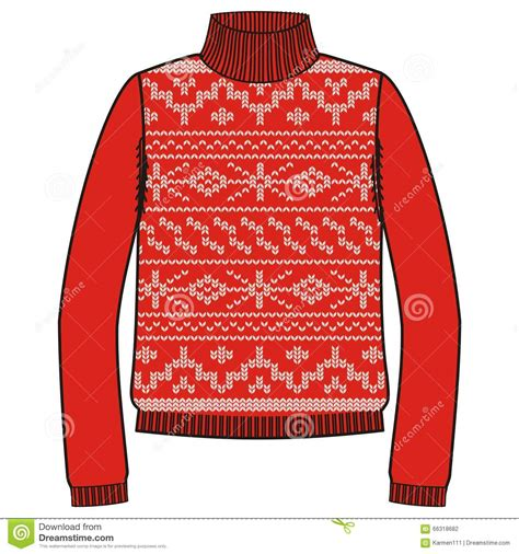 pattern red winter clothes winter warm sweater handmade svitshot jumper for knit