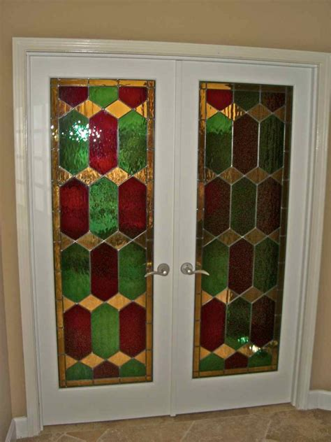 Stained Glass Door Inserts by Camelot Stained Glass Door Inserts Sans Soucie