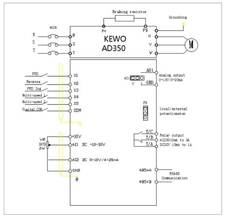 vacon vfd schematic diagram and wiring diagram