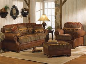 Rustic Living Room Chairs Wilderness Trails Sleeper