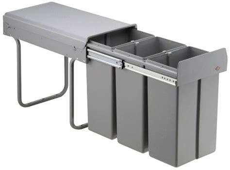 poubelle cuisine coulissante sous evier poubelle tri selectif encastrable