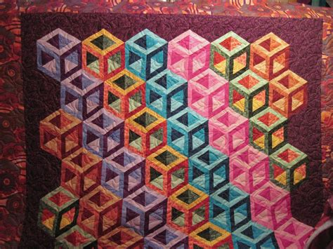 The Quilted by Jean S Quilting Page Cubes Quilted