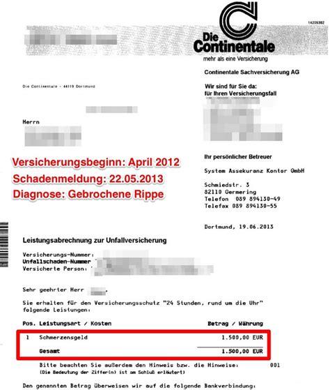 Kfz Versicherung Vergleich Continentale by Invaliditat Bei Kreuzbandriss Kfz Versicherung
