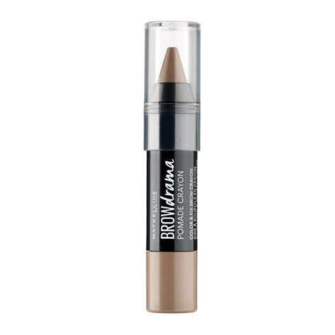 Maybelline Eyebrow Crayon maybelline brow drama pomade crayon medium brown 1 pcs 163 5 95