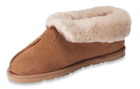womens sheepskin slippers nordvek womens genuine sheepskin slippers boots