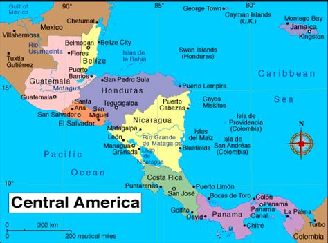 map of mexico central america america map map pictures