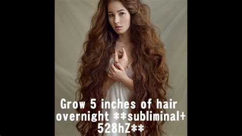 how to grow 4 5 inches of hair in a week grow 5 inches of hair overnight 100 guaranteed