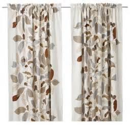 marimekko drapes ikea stockholm blad pair of curtains scandinavian