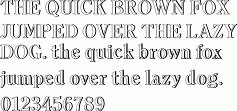 typography outline outline images