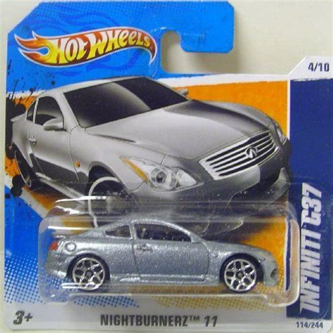 Hotwheels Infiniti G37 Faster Than 12 wheels infiniti g37 in silver by wheels 1 99 product is silver genuine wheels