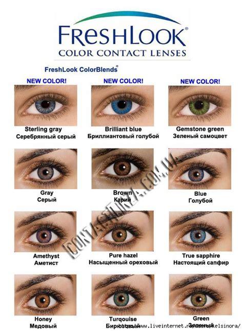 freshlook colorblends color chart fluke 381 freshlook colorblends color chart