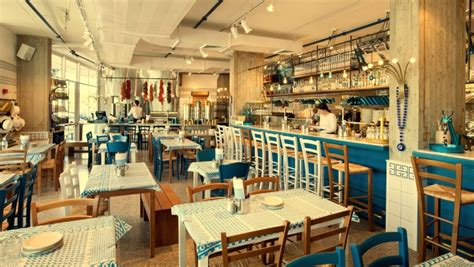 design cafe greek street greco greek restaurant by dan troim tel aviv israel
