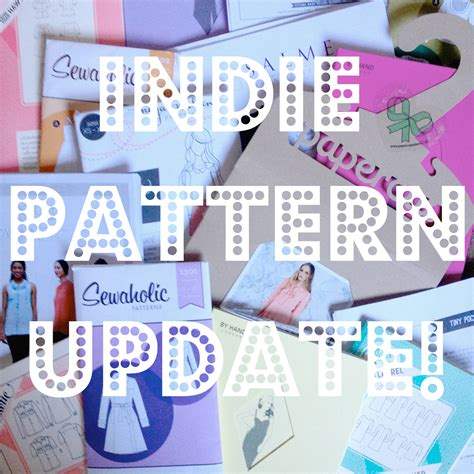 sewing pattern companies independent diary of a chain stitcher january indie pattern update