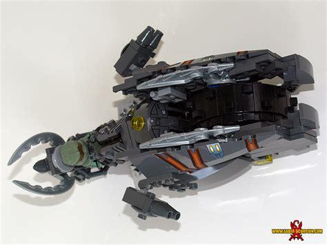 lego halo brute chopper tutorial part 1 2 youtube custom lego moc gallery saber scorpion s lair custom