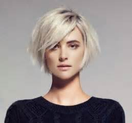 nice chin length hairstyles nice chin length bob with those long side swept bangs that