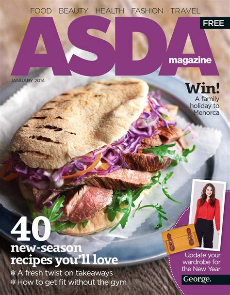 new year food asda asda magazine january 2014 by asda issuu