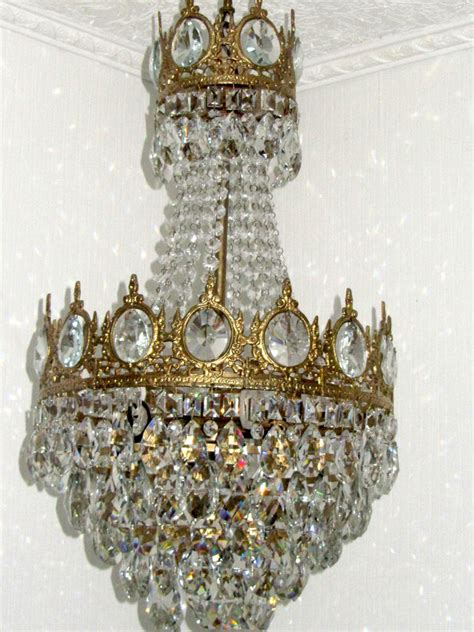 Ebay Chandeliers Antique Vintage Antique Nouveau Lead Chandelier
