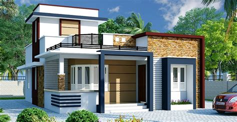 Home Design For 1100 Sq Ft 1100 sq ft single floor contemporary home designs