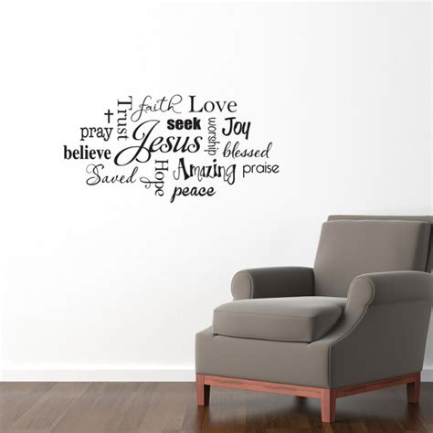 religious wall stickers christian wall decals just b cause