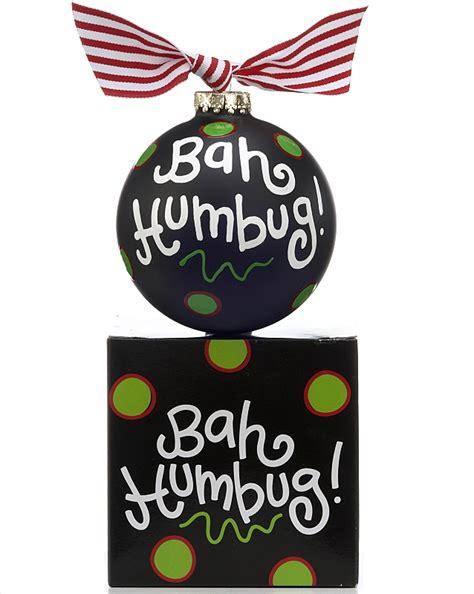 bah humbug personalized ornament