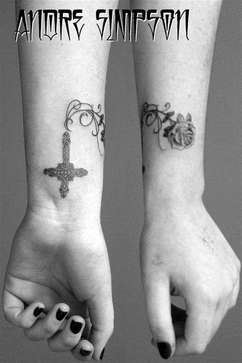 vine cross tattoos cross vines and by erasotron on deviantart