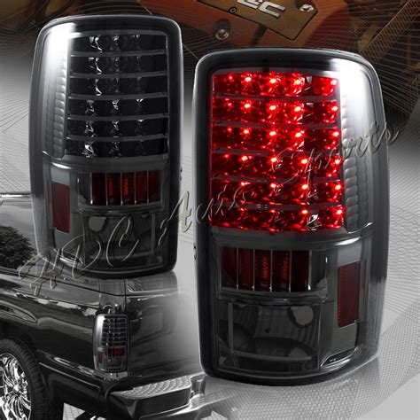 2006 chevy 2500 tail lights for 2000 2006 chevy tahoe suburban 1500 2500 led smoke len