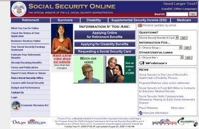 get social security office locations from ssa gov