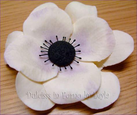 fiori in pdz passo passo anemone flower tutorial pasta di zucchero