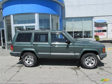 2000 green jeep medium fern green metallic 2000 jeep sport 4x4