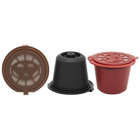 Espresso Bag Pack Of 3 Combo 1 3 Pack Nespresso Reusable Pods And A 230g Bag Of Italian Espresso Coffee Coffee Pod