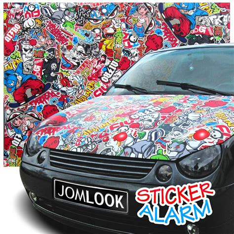 Folie Na Auto Sticker Bomb by Carbon Folie Matt Sticker Bomb Folie Auto Klebe Deko