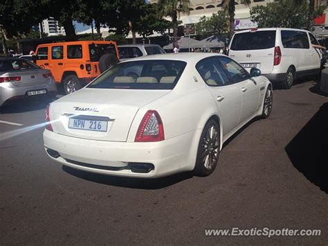 maserati in south africa maserati quattroporte spotted in umhlanga south africa on
