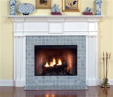 the colonial custom fireplace mantel from design the space