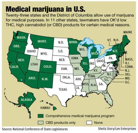 medical marijuana in united states map 2016 unlikely senator pushes for medical marijuana bill state