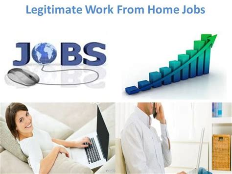 Work From Home Jobs Legitimate Online Jobs 2014 - legitimate work from home jobs authorstream