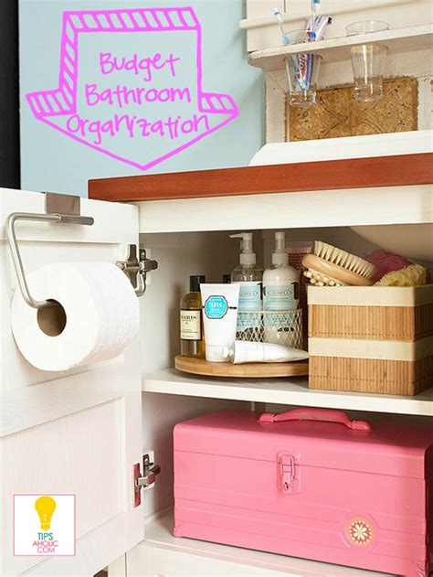 cheap bathroom storage ideas remodelaholic tipsaholic my new site