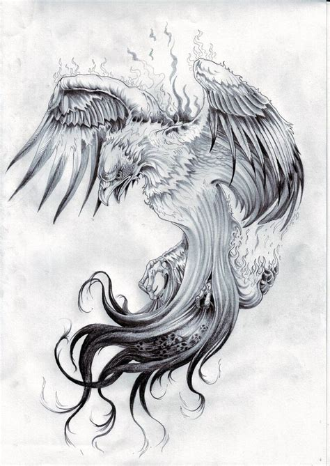 rising phoenix tattoos best 25 design ideas on
